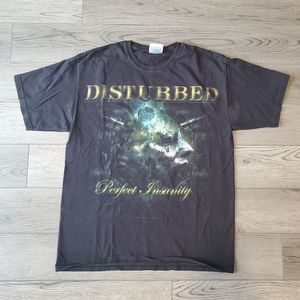 Mens disturbed tshirt medium